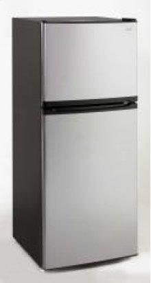 Model FF992PS - 9.9 Cu. Ft. Frost Free Refrigerator - Black / Platinum Finish Door