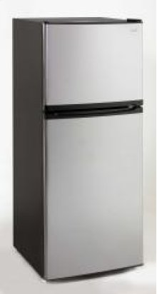 Model FF992PS - 9.9 Cu. Ft. Frost Free Refrigerator - Black / Platinum Finish Door