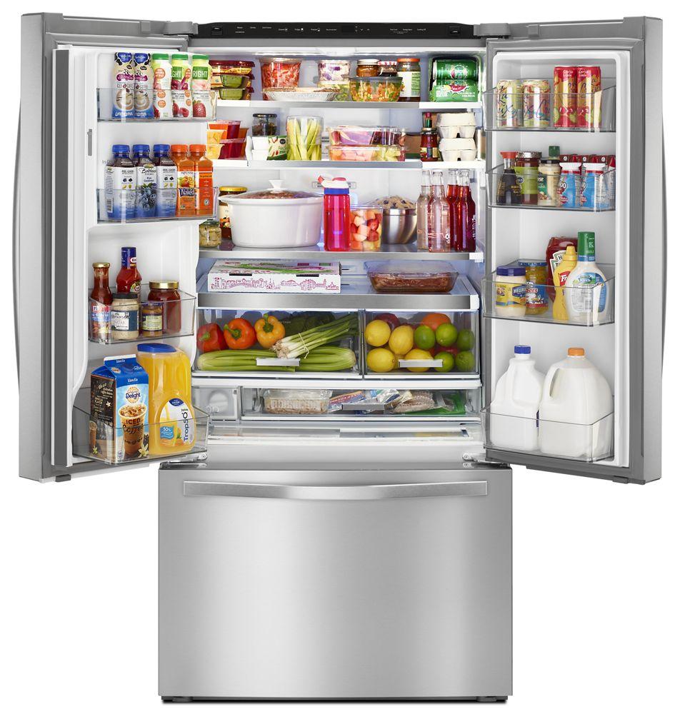 Additional 36 Inch Wide French Door Refrigerator With Infinity Slide Shelf    32 Cu.