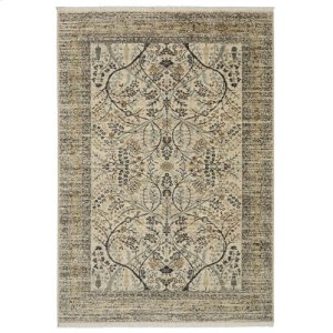 Sans Pareil Ivory Rectangle 3ft 6in X 5ft 6in