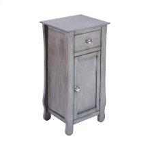 Ottawa 1-door 1-drawer Cabinet In Grey