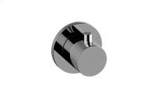 M-Series Round Two-Way Diverter Valve Trim Plate and Handle