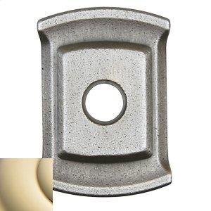 Lifetime Polished Brass 5059 Estate Rose Product Image