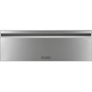 "Heritage 30"" Flush Warming Drawer, Silver Stainless Steel Product Image"