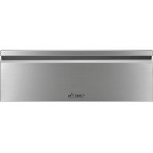 "Heritage 30"" Flush Warming Drawer, Silver Stainless Steel"