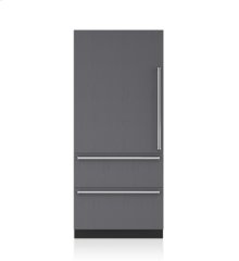 "36"" Designer Over-and-Under Refrigerator - Panel Ready"