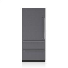 "36"" Designer Over-and-Under Refrigerator - Panel Ready"