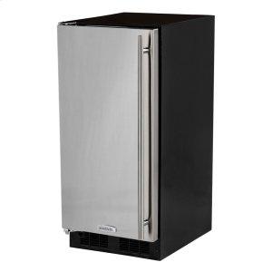 Marvel15-In Built-In All Refrigerator with Door Style - Stainless Steel, Door Swing - Left