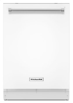 46 DBA Dishwasher with Third Level Rack and PrintShield Finish - White