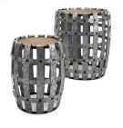 Moxly Galvanized Tables - Set of 2 Product Image