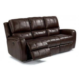 FLEXSTEELHOMEHammond Leather Power Reclining Sofa