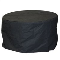 "42"" Round Fire Table Cover Product Image"