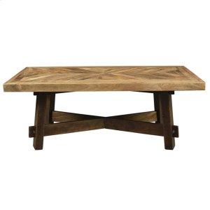 Yukon Coffee Table in Dark Walnut