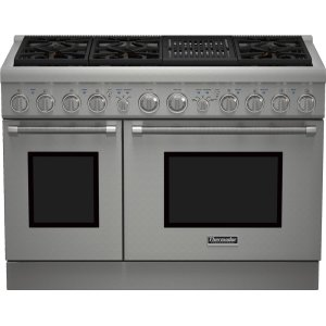 Thermador48-Inch Pro Harmony® Standard Depth Gas Range