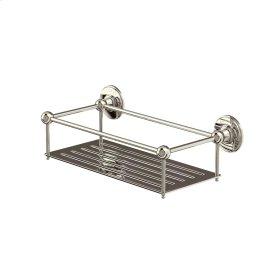 Arcade Wall Basket - Polished Nickel