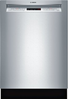 """24"""" Recessed Handle Dishwasher 500 Series- Stainless steel SHE65T55UC"""