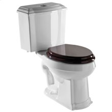 Allia Traditional Elongated Close Coupled Two Piece Water Closet