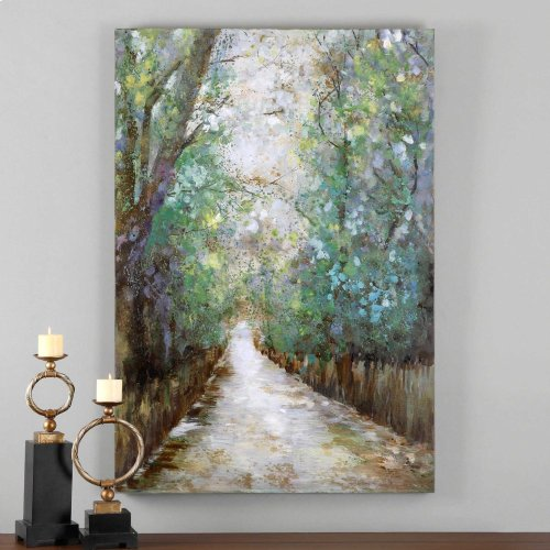 Greenway Hand Painted Canvas