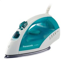 Steam Circulating Iron with Curved, Non-Stick Stainless-Steel Soleplate NI-E665S