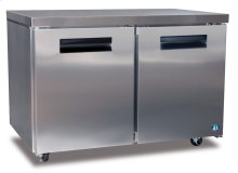 Freezer, Two Section Undercounter with Locks