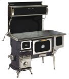 Black Oval Woodburning Cookstove - Model 1902 Product Image