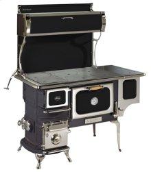 Black Oval Woodburning Cookstove - Model 1902