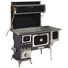 Black Oval Woodburning Cookstove - Model 1902