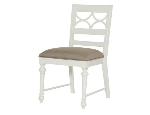 Fret Work Side Chair-kd