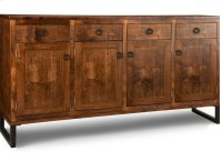 Cumberland Sideboard w/4 Wood Doors & 4/Dwrs & 3/Wood Adjust. Product Image