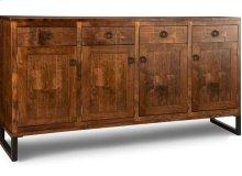 Cumberland Sideboard w/4 Wood Doors & 4/Dwrs & 3/Wood Adjust.
