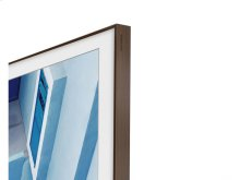 "65"" The Frame Customizable Bezel - Walnut/Dark Wood"
