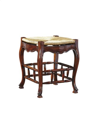 French Backless Bar Stool