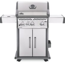 Rogue 425 SIB with Infrared Side Burner , Stainless Steel , Propane
