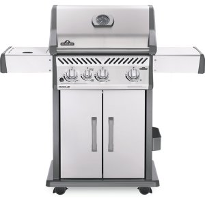 Napoleon GrillsRogue 425 SIB with Infrared Side Burner , Stainless Steel , Natural Gas