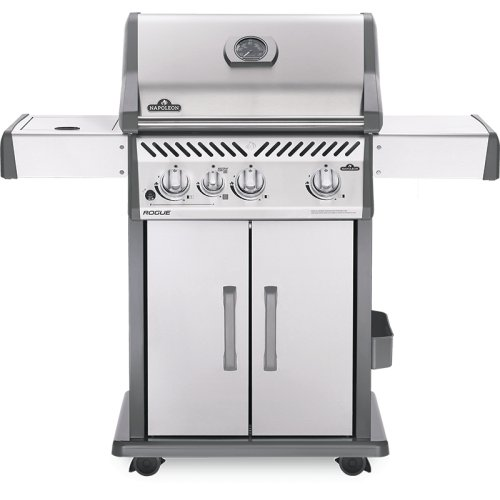 Rogue® 425 SIB with Infrared Side Burner , Stainless Steel , Propane