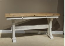 Flip Lid Sofa Table
