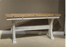 Flip Lid Sofa Table