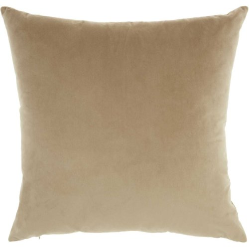 "Luminescence Qy168 Beige 18"" X 18"" Throw Pillows"