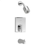 American StandardStudio FloWise Bath/Shower Trim Kit - Polished Chrome