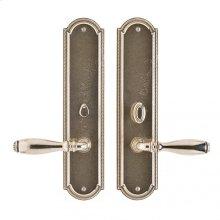 "Ellis Privacy Set - 3"" x 13"" Silicon Bronze Brushed"