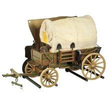 """19""""W Covered Wagon Wall Sconce"""