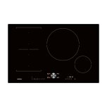Gaggenau200 series Flex induction cooktop Width 30'' (80 cm) Frameless for flush mounting only