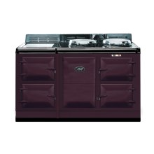 Aubergine 4-Oven AGA Cooker (electric) Electric fuelled cast-iron cooker