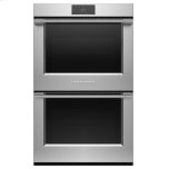 """Fisher & PaykelDouble Oven, 30"""", 8.2 cu ft, 17 Function, Self-cleaning"""