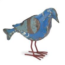 Recycled Metal Bird Large