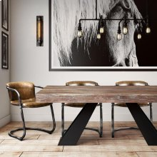 Westwood Elm Dining Table (top)