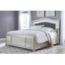 Queen UPH Panel Bed