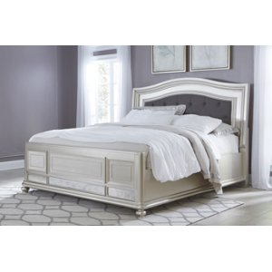 Ashley Furniture Coralayne - Silver 3 Piece Bed Set (Queen)