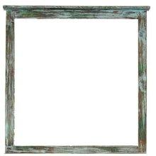 Painted Reclaimed Look Mirror