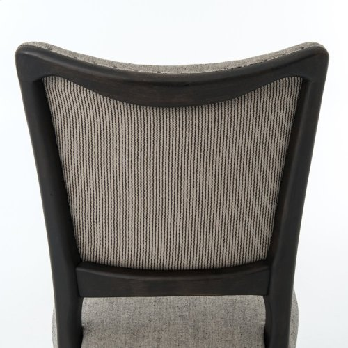 Ives White Grey Cover Lennox Dining Chair